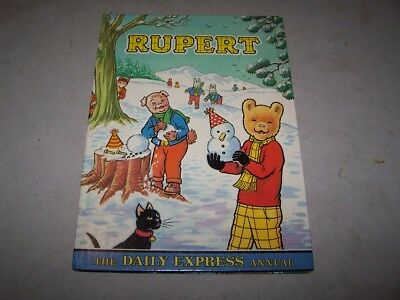 The Rupert Annual, printed 1974 so will be the 1975 Annual Lot 1