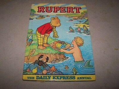 The Rupert Annual, printed 1975 so will be the 1976 Annual