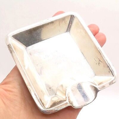 Vintage Tiffany & CO 19099 Makers 1187 Sterling Silver Collectible Cigar Ashtray