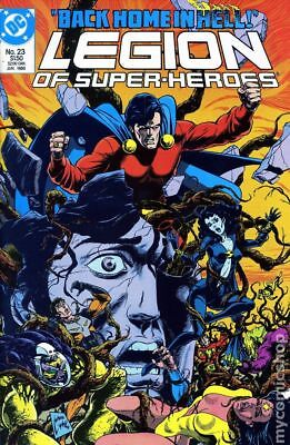 Legion of Super-Heroes (1984 3rd Series) #23 FN