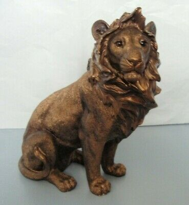 Large Lion Sitting with Lioness & Cubs Figurine/Statue * NEW * African Safari