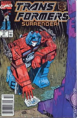Transformers (1984 Marvel) 1st Printing #71 FN