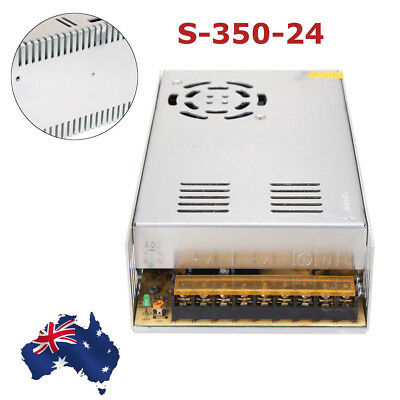 1PCS S-350-24 110/220VAC To 24VDC 14.6A 350W Regulated Switching Power Supply AU