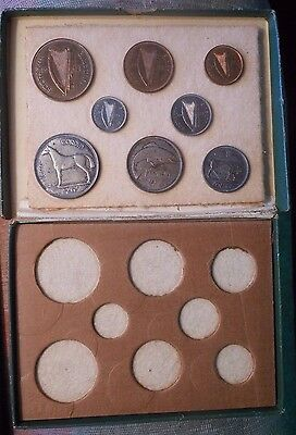 1928 Ireland Free State 8 Coin Proof Set w/ original box