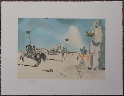 Salvador Dali 'Timeless' Signed Lithograph Lim. 2000 pcs.