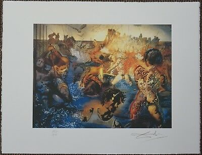 Salvador Dali 'Tuna fishing' Signed Lithograph Lim. 2000 pcs.
