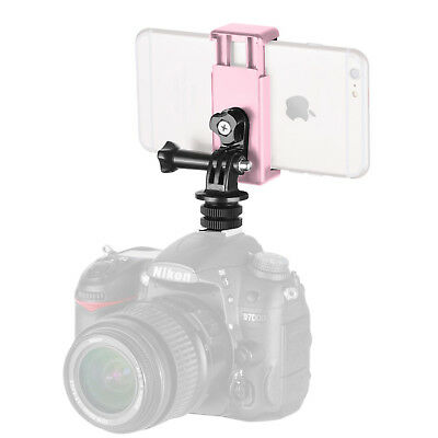 Neewer 3-in-1 Camera Hot Shoe Mount Adapter Kit for GoPro iPhone 7 Plus 6S Plus