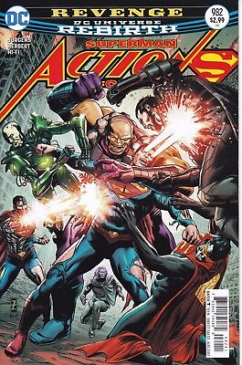 ACTION COMICS (2016) #982 - Cover A - DC Universe Rebirth - New Bagged