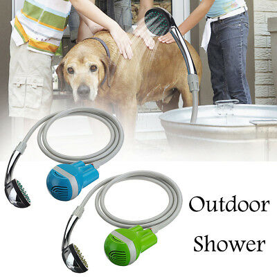 Portable Wireless USB Rechargeable Battery Shower Water Pump Travel Outdoor Set