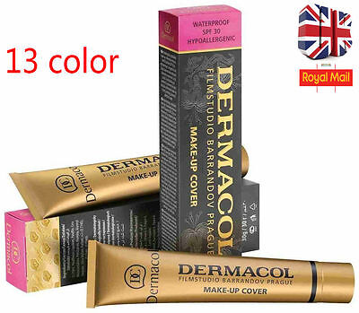 Dermacol Film Studio Legendary High Covering Foundation Hypoallergenic New