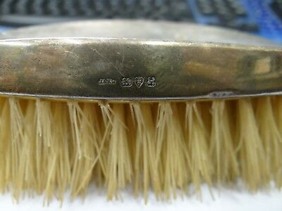 Silver Backed , Hair/clothes Brush, Chester 1908 / 1923 ?