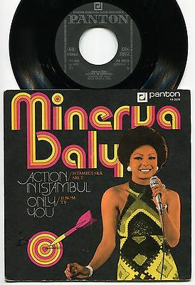 Minerva BALY action in Istambul 45 rare SISTER FUNK soul SPY mod PSYCH OST hear♬