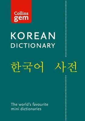 Collins GEM Korean Dictionary by Collins Dictionaries (Paperback, 2010)