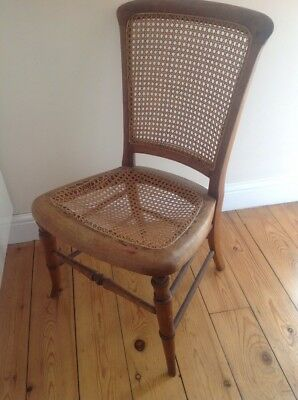 Antique Wooden Bedroom Chair