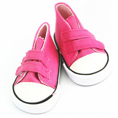 3pair Sticky Canva Sneaker f��r 18 'American Girl Schuhe Kleidung My Life d7wTL