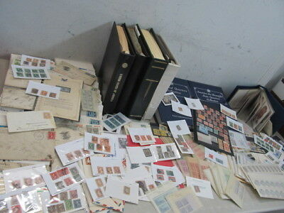 Nystamps X Thousands Mint Used Old US Stamp Collection Albums Large Carton