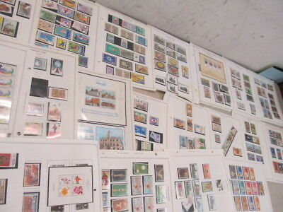 Nystamps Thailand mint NH stamp & souvenir sheet collection album page