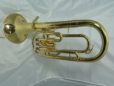 Amatti (European built) Unmarked Eb Tenor Horn, Just Serviced 12 Months Warranty