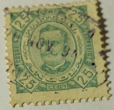 Angola   Scott#29  Used...worldwide Stamps