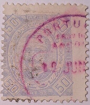 Angola  Scott#30  Used Stamp....worldwide Stamp