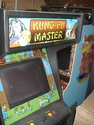 Data East Kung Fu Master Arcade Game