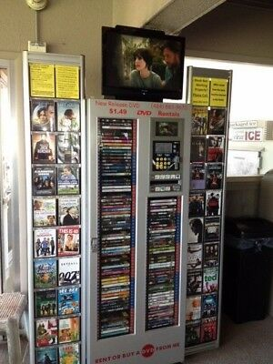 DVDNow S100 DVD Rental Kiosks - Pick your business size!