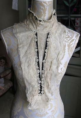 Antique Lady's Lace Insert {Handmade Lace}