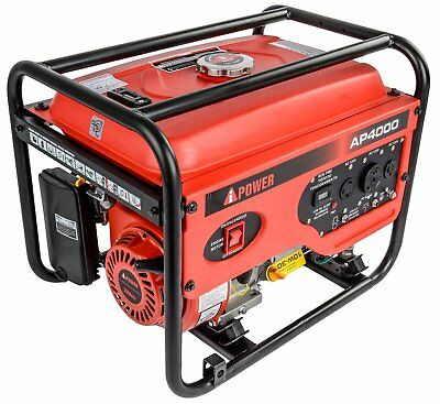 JEGS Performance Products 81962 Portable Generator 4000W Starting Power