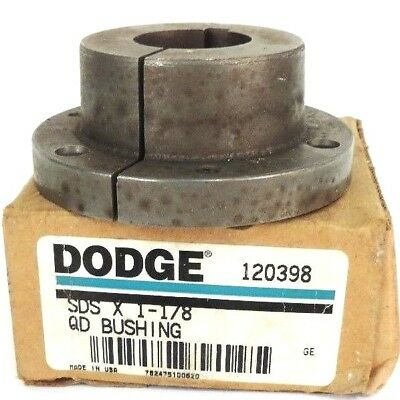 Nib Dodge 120398 Sds X 1-1/8 Qd Busing W/out Hardware