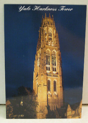 Yale Harkness Tower at Night Connecticut Magnet