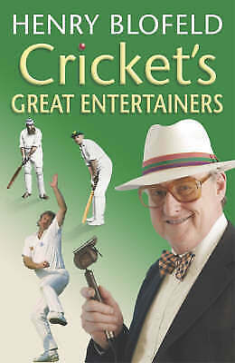 Cricket's Great Entertainers by Blofeld, Henry Paperback Book NEW