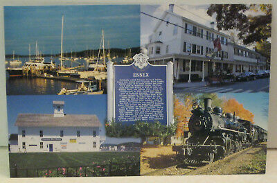 Essex Connecticut Sailboats Griswold Inn Museums Steam Train Magnet