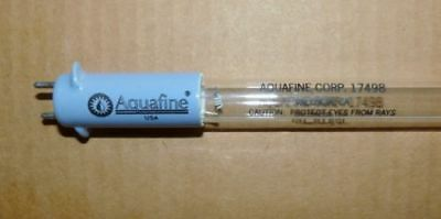 "8- NEW AQUAFINE #17498 UV LAMP 61"" LENGTH 185nm FOR TOC REDUCTION 8-Pack"