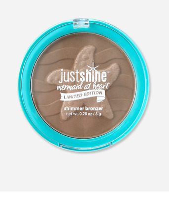 Justice Just Shine MERMAID AT HEART Limited Edition Shimmer Bronzer NEW