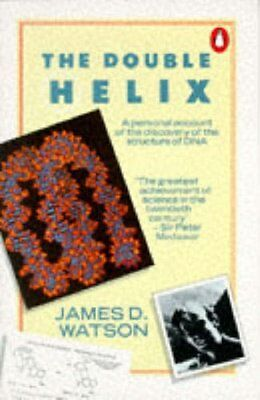 VINTAGE 1970 Paperback The Double Helix: A personal account of the discovery of