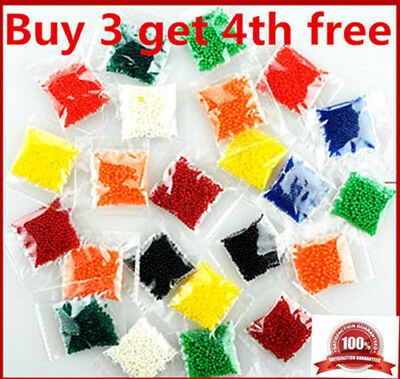 10g 1kg Crystal Soil Water Beads Jelly Ball Vase Filler Wedding Party Decoration