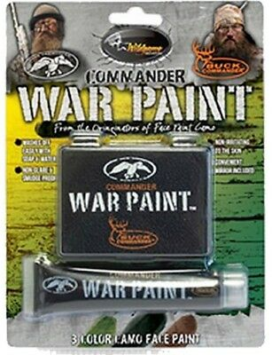 Wildgame Innovations 00327 No-Glare Commander War Face Paint