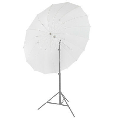 "Neewer 72"" White Diffusion Parabolic Umbrella 16 Fiberglass Rib 7mm Shaft"