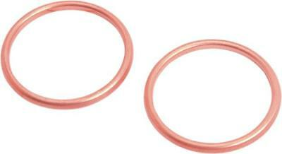 DS Copper Exhaust Port Gaskets Harley FLH 80 1978-1984