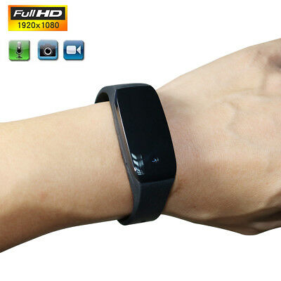 HD 1080P SPY Cam DVR Hidden Camera Wearable Wrist Watch Mini DV Video Recorder