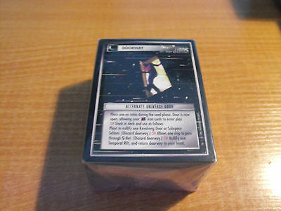 Star Trek CCG Alternate Universe komplettes Master Set Eingeschlossen Future