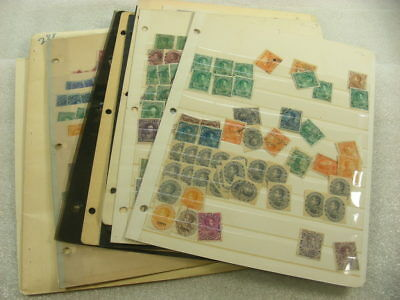 VENEZUELA, LATIN AMERICA, Accumulation of Stamps in stock sheets & hinged on pag