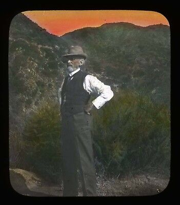 Lyman Beecher Sperry In Hawaii Glass Magic Lantern Slide