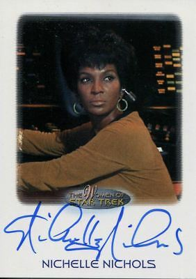 Star Trek Women Of [2010] Autograph Card Nichelle Nichols as Lt. Uhura