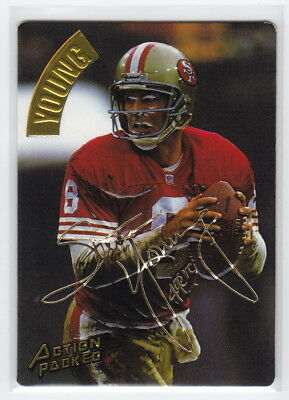 1994 Action Packed Gold Signatures #108 Steve Young