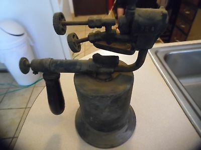Rare Antique / Vintage Turner  Double-Jet Blowtorch / Blow Torch :