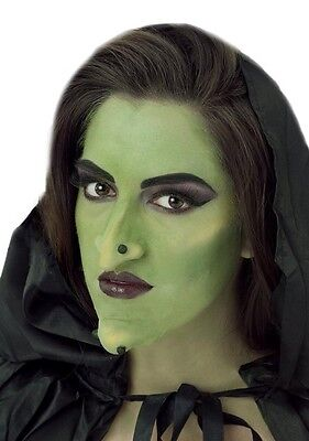 Adult Beige Latex Witch Goblin Orc Nose & Chin Costume Makeup Prosthetic Set