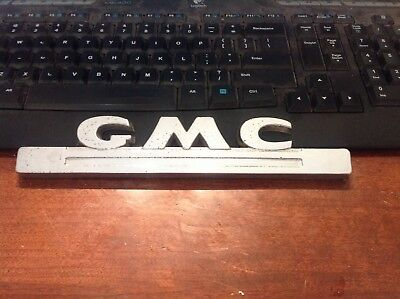 Vintage Gmc Pickup Truck Trucks Oe Emblem Original Equipment 1947 1948 1949 1950