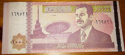 Saddam Hussein Iraq Bank Note World Signed I II Middle East Gulf War Asian Old