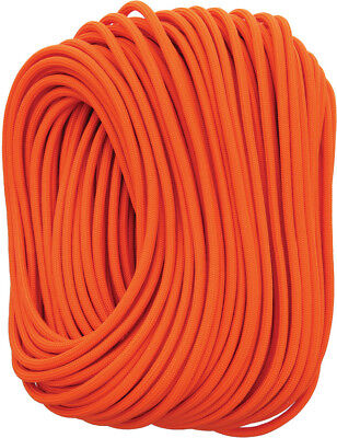 Live Fire 28 Safety Orange FireCord Fire Tinder Inner Strand - 100 Feet Length